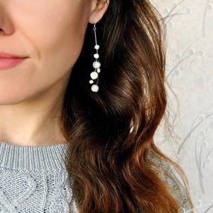 Jewelry - 925SS Freshwater Pearl Earrings